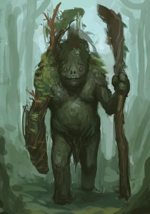 Forest Giant Effigy
