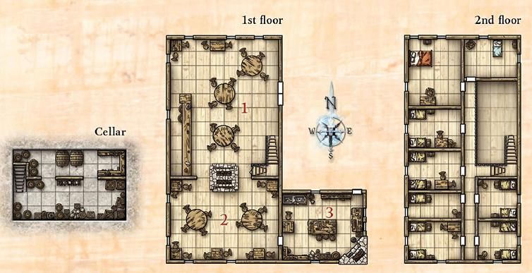 Green Dragon Floor Plan