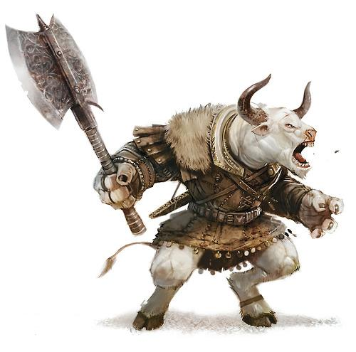 Minotaur  with axe