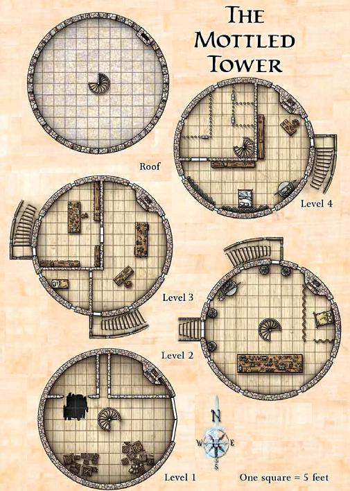 Mottled Tower Floor Plan